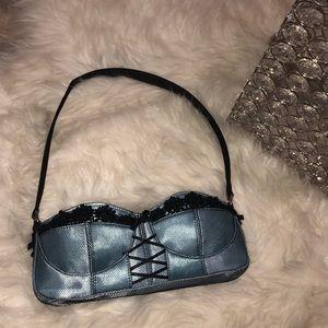 Corset purse bra Y2k bag mesh 2000s vintage